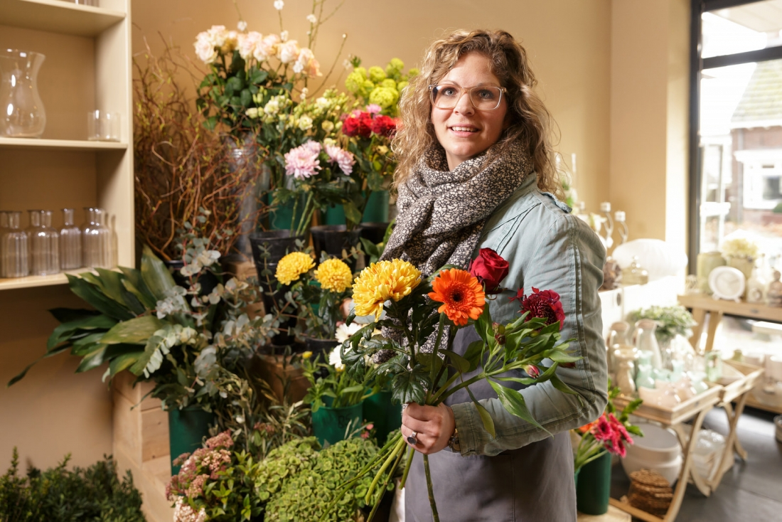 Binnenkijken bij Sanne bloem- en interieurstyling.